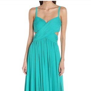 Laundry by Shelli Segal turquoise green maxi
